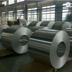 China Temper O H14 H16 Aluminium Gutter Coil 5005 , 5052 , 8011 Alloy Aluminum Trim Coil supplier