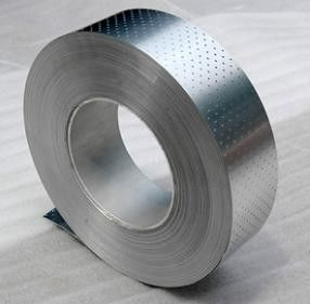 China 0.150mm - 0.12mm Perforated Aluminium Foil With 150mm Inner Core Diameter distributor