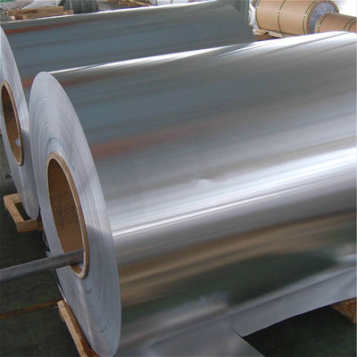 China 600-1600mm Lacquer Coated Aluminium Foil 8011 H16 H14 Poly Coated Aluminium Foil factory