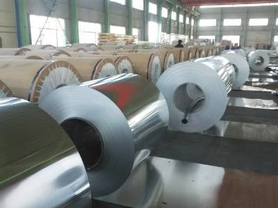 China Hydrophilic And Plain Air Conditioner Aluminum Coil With 1100 Alloy factory