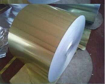 China Tongxin Lacquer Coated Aluminium Foil 8011 Temper H14 For Aluminium Flip Off Seals distributor