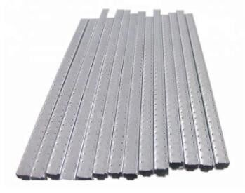China Narrow Aluminium Spacer Bar 3003 / H19 Hollow Glass Aluminum Strip factory