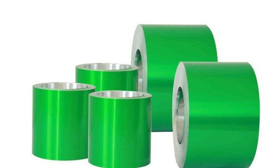 China Industrial Color Coated Aluminum Sheet Mill Finished Surface Coloured Aluminium Foil distributor