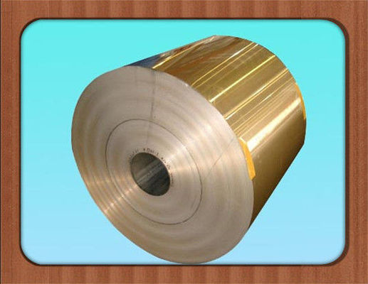 China Anti Corrosive Color Coated Aluminum Coil , Lacquered Surface Coloured Aluminium Foil factory