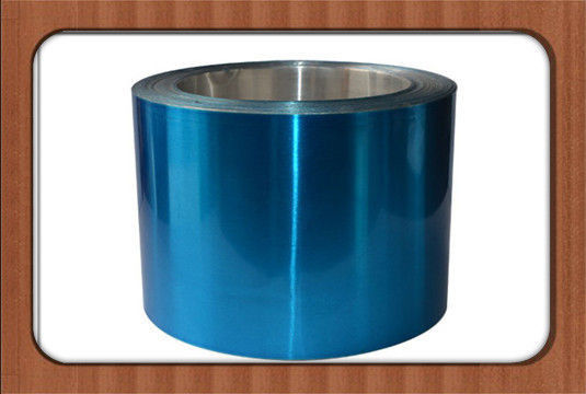 China Mill Finished Surface Color Coated Aluminium Coil 8011 H14 Decorative Aluminum Foil factory