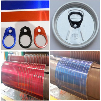 China Customized Aluminium Can Material With Easy To Open Ring Material distributor
