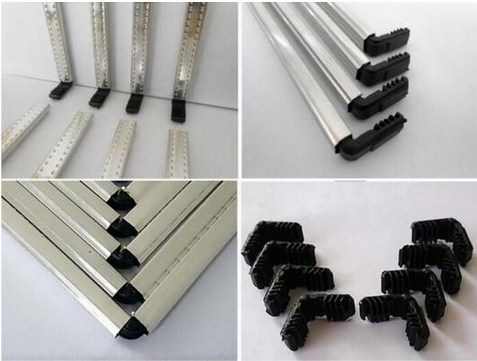 3003 Aluminum Insulating Spacer Bar Strip For Hollow Crosser Glass